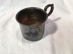 Sterling Silver Baby Cup Vintage