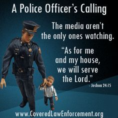 Ministering to the needs of police officer families: www.CoveredLawEnforcement.org