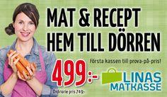 Originalkassen från Linas Matkasse är en väldigt populär matkasse att ge bort i julklapp. Läs mer här http://matkassarna.com/matkasse/linas-matkasse-originalkassen/