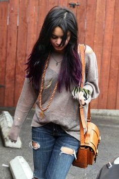 I think my next hair colour might be purple ombre... please take note @Krysten Miller