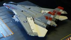 """""""F-14A Tomcat Rear Qtr"""" by crash_cramer: Pimped from Flickr"""