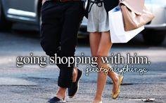 when boys go shopping with you