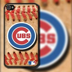 Chicago Cubs Baseball Design on  iPhone 4/4s or by EastCoastDyeSub, $15.00