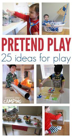 Pretend play ideas for kids