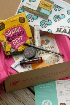 Ecocentric Mom Subscription box and told you to be on the lookout for an upcoming review.