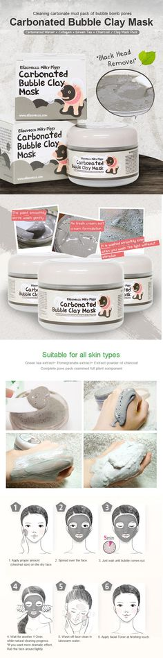 Memebox Milky Piggy Carbonated Bubble Clay Mask