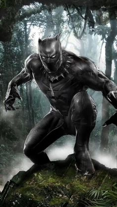 Black Panther Hd Wallpaper, Black Panther Art, Black Panther Marvel, Marvel Films, Marvel Characters, Panther Pictures, Wallpaper Animes, Iron Man Avengers, Superhero Poster
