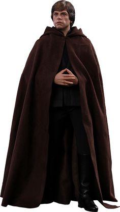Star Wars Episode VI: Return of the Jedi - Luke Skywalker Scale Action Figure by Hot Toys Star Wars Luke Skywalker, Supergirl, Star Wars Episode Vi, Statues, Le Retour Du Jedi, Jedi Tunic, Figurine Star Wars, Dc Comics, Star Wars Memorabilia
