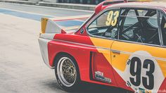 The BMW CSL Art Car, photographed by Peter Aylward. #MomentumMobiles