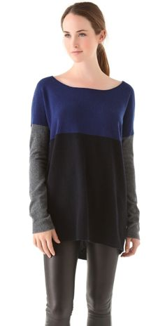 Colorblock Sweater by ShopBop