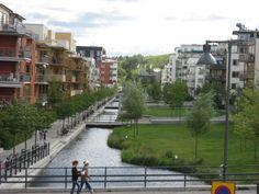 Cuál es el primer barrio sustentable de Estocolmo?