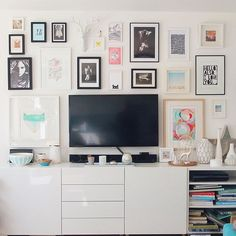 I got my gallery wall up! And it didn't take 4 years this time!