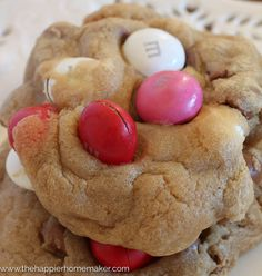 Peanut Butter MandM Soft Batch Cookie Recipe