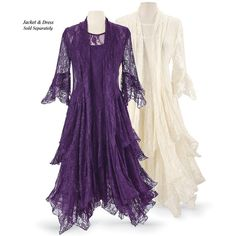 Shop for Wedding & Handfasting today at Pyramid Collection. Unique selections of Wedding & Handfasting available, shop Pyramid Collection today! Mob Dresses, Fashion Dresses, Bride Dresses, Fashion Clothes, Wedding Dresses, Pyramid Collection, Unique Clothes For Women, Lace Jacket, Purple Jacket