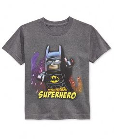 Officially Licensed *New* Lego Batman Boys Group T-shirt
