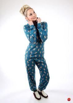 Schlafanzug aus Baumwolle für angenehme Nächte / cotton pajamas for a good night's sleep made by meko via DaWanda.com