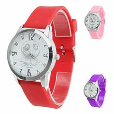 Tanboo Unisex Silicone Style Analog Quartz Wrist Watch (Assorted Colors) by Tanboo. $6.99. Wrist Watches. Casual Watches. Women's, Men's Watche. Gender:Men's, Women'sMovement:QuartzDisplay:AnalogStyle:Wrist WatchesType:Casual WatchesBand Material:SiliconeBand Color:Red, White, Pink, PurpleCase Diameter Approx (cm):3.9Case Thickness Approx (cm):0.7Band Length Approx (cm):24.3Band Width Approx (cm):1.8