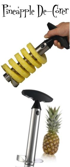 I have this exact Pineapple Decorer and it makes cutting and serving pineapple such a cinch!