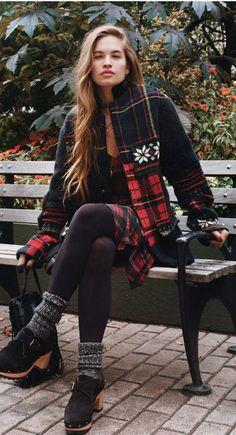 Stormi Henley models Polo Ralph Lauren for Women in the November 2014 issue of Nylon Magazine