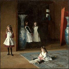 The Daughters of Edward Darley Boit; 1882; Oil on canvas; 221.93 x 222.57 cm (87 3/8 x 87 5/8 in.); Museum of Fine Arts, Boston; Gift of Mary Louisa Boit, Julia Overing Boit, Jane Hubbard Boit, and Florence D. Boit in memory of their father, Edward Darley Boit; 19.124; © 2010 Museum of Fine Arts, Boston