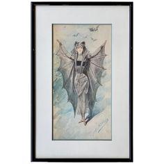 European Paintings, Modern Paintings, Art Nouveau Illustration, Baroque Painting, Art Nouveau Furniture, Spooky House, Italian Painters, Painted Paper, French Art