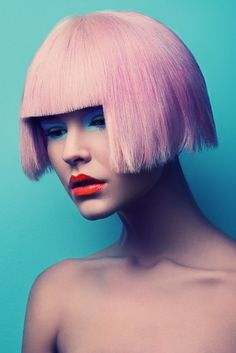 The Jeff Tse Candy Beauty Story Revives a 60s MOD Aesthetic #makeup #avantgarde trendhunter.com