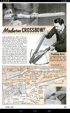 Build a metal crossbow using a leaf spring plans Diy Crossbow, Crossbow Arrows, Crossbow Hunting, Archery Hunting, Survival Weapons, Survival Gear, Survival Skills, Tactical Survival, Bushcraft Skills