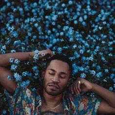 Black Men In Bloom