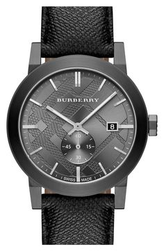 Dad would love this classic Burberry watch for Father's Day.