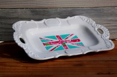 A personal favorite from my Etsy shop https://www.etsy.com/listing/250711281/cute-union-jack-ring-dish-jewelry-tray
