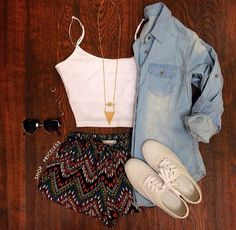 Clothes Casual Outfit for teens movies girls women . summer fall spring winter outfit ideas dates sc Mode Outfits, Fashion Outfits, Womens Fashion, Shorts Outfits For Teens, Teen Outfits, Party Outfit For Teen Girls, Casual Outfits For Teens Summer, Fashion Clothes, Cute Summer Outfits For Teens