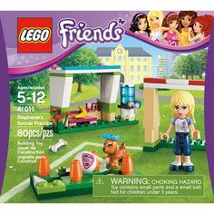 LEGO Friends Stephanie Soccer Practice Play Set