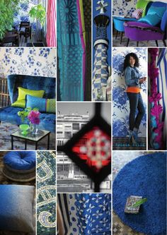 Sapphire Blue design trends from Designers Guild.