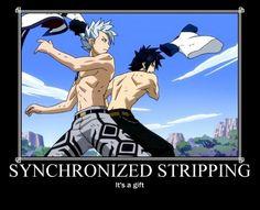 Lyon and Gray - Fairy Tail.
