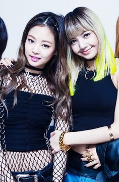 Jennie & Lisa Kpop Girl Groups, Korean Girl Groups, Kpop Girls, Kim Jennie, Yg Entertainment, Blackpink Fashion, Korean Fashion, K Pop, Blackpink Debut