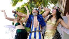 "Shakespeare's Beloved Comedy ""A Midsummer Night's Dream"" set at Burning Man"