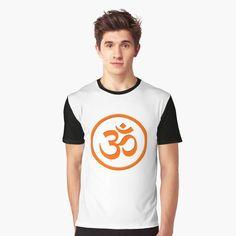 Meditation Symbols, Om Symbol, My T Shirt, Female Models, Chiffon Tops, Vivid Colors, Yoga, Printed, Awesome
