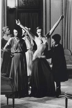 Helmut Newton (1920-2004) Chez Patou, Paris, French Vogue 1977