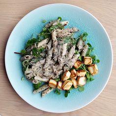 Super Trio Kale, Quinoa & Brown Rice Penne Vegan Pesto Pasta