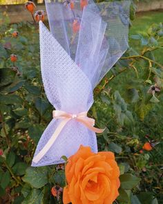 Wedding favor. Μπομπονιέρα γάμου σε πουγκί λεζα και απαλό ροδακινη χρώμα σε σατέν κορδέλα. Φιόγκος με πέρλα. Κουφέτα παρφε φράουλας με σαμπάνια. Τηλεφωνικές παραγγελίες στο 📲 +306973390687 #4r❤️❤️msstoreofhappiness #4r💜💜msbymilana