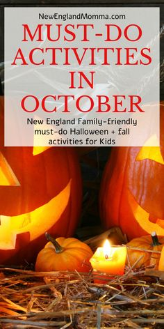 These 6 must-do activities are all within a 2 hour drive of Central Massachusetts. Plan ahead now for a night of fun in October. New England Day Trips, New England Fall, New England Travel, New England Style, Autumn Activities For Kids, Fun Activities To Do, Fall In Connecticut, Maine In The Fall, Fun Places To Go
