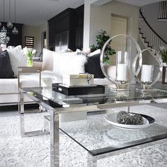 "Fans 😍 the Duplicity coffee table. ""I have wanted this table for so long and I finally decided to buy it! I am very happy with my purchase. It adds a lot of style to my living room. I have a Z Gallerie breakfast room and living room. So CHIC!"" Kammy, FL #zgalleriemoment via @decor.mm For a chance to be featured next week, tag your most fabulous #zgalleriemoment!"