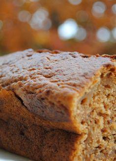Low FODMAP & Gluten free Recipe -  Pumpkin loaf cake  http://www.ibssano.com/low_fodmap_recipe_pumpkin_loaf_cake.html