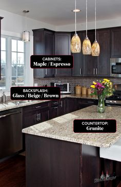 Like this kitchen style? Here are the collections and colors that make up this stunning kitchen. Kitchen Decor Themes, Home Decor Kitchen, Kitchen Interior, Ikea Kitchen, Kitchen Ideas, Farmhouse Kitchen Cabinets, Painting Kitchen Cabinets, Kitchen Paint, Interior Modern