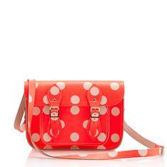 The Cambridge Satchel Company® polka-dot satchel