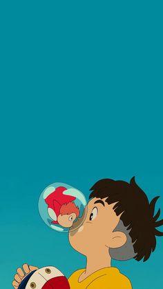 [아이폰 고화질 배경화면] 벼랑 위의 포뇨 : 네이버 블로그 Anime Scenery Wallpaper, Cute Anime Wallpaper, Cute Wallpaper Backgrounds, Anime Artwork, Cartoon Wallpaper, Cute Wallpapers, Iphone Wallpaper, Beautiful Wallpaper, Studio Ghibli Art