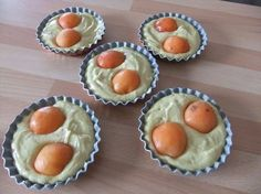 Moelleux aux abricots et aux amandes thermomix ou pas Thermomix Desserts, Mini Cakes, Vinaigrette, Biscuits, Muffins, Good Food, Food And Drink, Fruit, Cooking