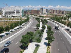 Valdebebas, junio de 2013. La construcción del nuevo barrio de Madrid avanza.