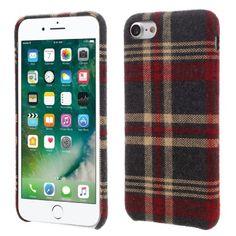 coque iphone 7 tissu gris