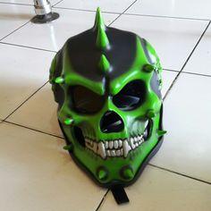 Skull Helmet, Helmets, Deadpool, Design, Hard Hats, Mascaras, Helmet